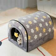 New Autumn And Winter Dog House Warm Small House Cat Pet Nest Removed Washed