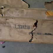 Nos Gm 338219 71 - 80 Chevy G10 G20 Van Lh Lower Stainless Molding