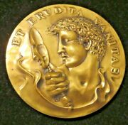 1982 Society Of Medalists 105th Issue Vanity John Cook Bronze Medal Danbury. Ct