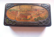 Carr And Co Carlisle Factory Biscuits Sample Tin 1906 Vintage Retro Food