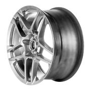 03866 Factory Oem 20x9.5 Alloy Rear Wheel Smoked Hypersilver Full Painted