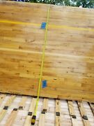Maple Solid Hardwood Flooring Reclamed 4and039 X 7and039 X 3/4 2 1/4 Boards