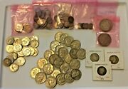 Lot Of 90 Silver Coins