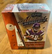 2007 Playoff Absolute Memorabilia Football Hobby Box Factory Sealed Peterson Rc