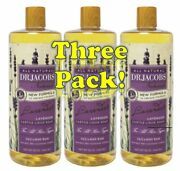 Dr Jacoband039s Naturals Pure Castile Liquid Soap 32oz 3-pack Pick From 12 Scents