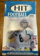 2005 Sage Hit Football Hobby Box Factory Sealed Aaron Rodgers Rc, Auto 5 Autos