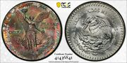 1985 Mo Mexico One 1 Onza Pcgs Ms 68 Libertad Silver Witter Coin