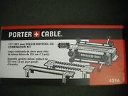 Porter Cable 4216 12 Deluxe Dovetail Jig Combination Kit And Templates New