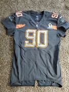 Nike Team Issued Ndamukong Suh Lions 2014 Nfl Pro Bowl Football Jersey 54 Game