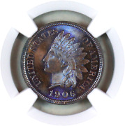 1906 Ms66 Bn Ngc Indian Head Penny Premium Quality Monster Toning