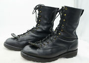 Viberg Boot Canada Oiled Leather Heavy Duty Logger Work Biker Boots Mens Sz 12
