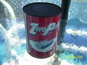 Vintage Zero Pruf Anti Freeze One Quart Can...snowman In Convertible