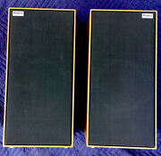 Rogers Ls5 Speakers 1982 Classic Look British Sound. Lovely Cabinets.