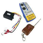 Universal 12v 75ft Winch Wireless Remote Control Controller Key System Kit