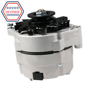 12v Alternator High Output 105 Amp Self-exciting For Chevy One 1 Wire Delco 10si