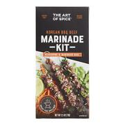 Art Of Spice Korean Bbq Beef Seasoning And Marinade Kit Contains Soy