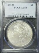 1897-o Morgan Dollar Pcgs Au58  Dollar Prices Are Going Up