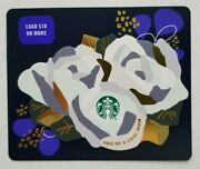 Starbucks Card 6180 - Mother's Day Roses - Silver 2021 Star