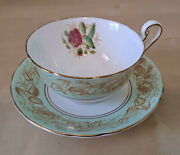 Vintage Victoria C And E Bone China England Chelsea Cup And Saucer Set