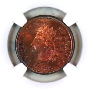 1886 T1 Pf64 Rb Ngc Indian Head Penny Premium Quality Proof Example