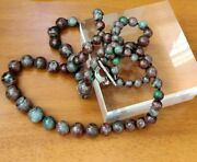 Rarities Multicolored Garnet 2-strand Graduated Bead Necklace With Toggle Clasp