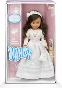 Nancy Doll Of First Communion Brunette Collection Famosa 700011490