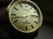 [polished] Grand Seiko Sbgt004 Quartz Yg Steel Gold Day Date Menand039s Watch 37mm