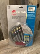 Monster Cable M550i M Series 1 Meter Long New Open Box Nos 24k Gold Contacts