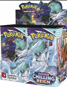 Pokemon Sword And Shield Chilling Reign Booster Box Pre Order Ships 6/18/21