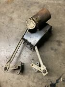 1965 1966 Ford Mustang Wiper Assembly Bracket Motor Transmission Arms 65 66 Oem