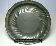 Antique German Pewter Plate Dish Platter Bowl By Jd Germany Ca1800and039s Excel Cond
