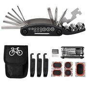Kit Tools For Bike 16 On 1 Multifunction With Kit Patch New