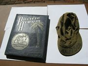 75th Seabees Unit Book -itinerary And Hbt Cap Named