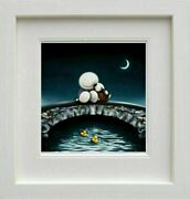Watching The World Go By By Doug Hyde. Framed. New With Coa. Quick Delivery