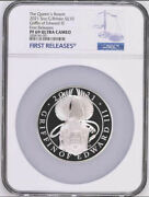 2021 Uk Queenand039s Beasts Griffin Of Edward Andpound10 5oz Silver Proof Coin Ngc Pf69uc Fr