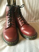 Dr Martenand039s Boots Cherry Red Size 10 Barely Worn