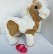 Furreal Friends Baby Butterscotch Show Pony And Brush Interactive Poseable Sounds