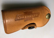 Ship Winter Chevrolet Chevy Lawrence Kansas Vintage Leather Auto Keychain