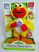 Chicken Dance Elmo - Fisher Price Sesame Street Sings And Flaps Wings 2001 - New