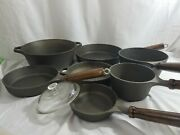 Vintage Birmingham And039lady Bessand039 Series 1976 To 1980 Cast Iron Cookware