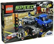 Lego Speed Champions Ford F-150 Raptor And Ford M Odel A Hot Rod 75875