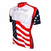 Us Constitution Short Sleeve Half Zip Menand039s Cycling Jersey