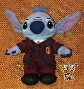 Tokyo Disney Tower Of Terror Stitch Pin Plush Toy Keychain