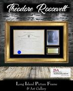 President Theodore Roosevelt Signed Appointment Document Philippine Scouts Jsa