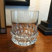 1 Rosenthal Holdfast Clear Cut Crystal Double Old Fashioned Glass 1969-1982