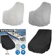 Captainandrsquos Boat Seat Cover Foldable Heavy-duty Bench Helm Chair Cover