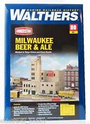 Ho Scale Walthers Cornerstone 933-3024 Milwaukee Beer And Ale Brewery Building Kit