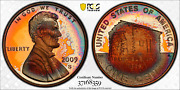2009-s Lincoln Cent Early Childhood Pcgs Pr67rd Dcam Penny Monster Target Toned
