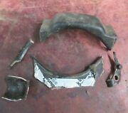 1932 Ford Cross Member Pieces Flathead Hotrod Trog Socal Scta Coupe Roadster