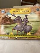 Marx Toys The Legendary Noble Knights Sir Brandon The Blue Knight New In Box